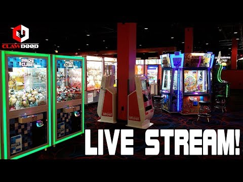 🔴 Round1 Live Stream! Arcade Fun With Coin Pushers, Claw Machines and MORE! 5/19/2018