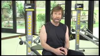 Chuck Norris uses the Total Gym to improve his Martial Arts - 2014