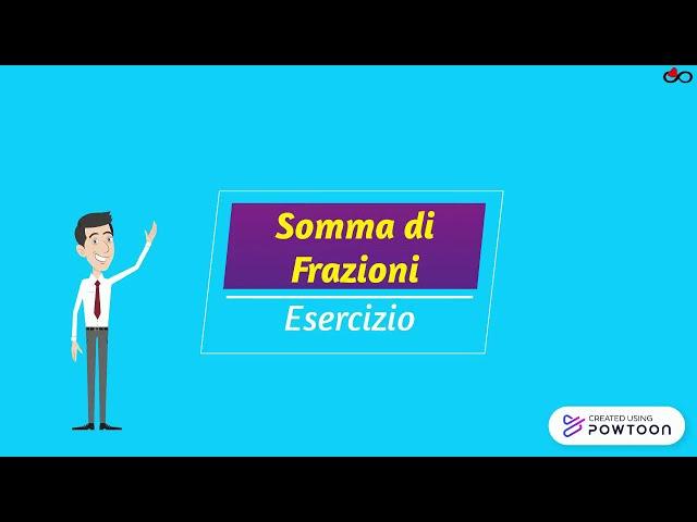 Matematica #23 Somma di Frazioni - Esercizio