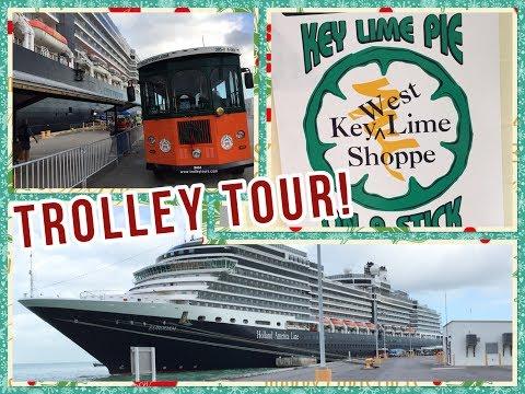 Exploring Key West, Florida, on Holland America Line Eurodam! Caribbean Cruise Travel Vlog!