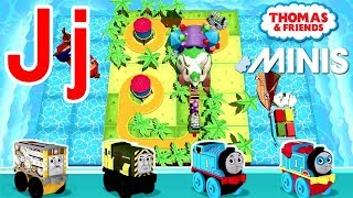 Jj — Thomas ve Arkadaşları Mini ile Öğrenmek Akk Kendi mektup 'Senin'J'' Tren yolu İnşa Verilmiştir.