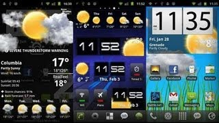 Los mejores Widgets android + Beautiful Live Weather