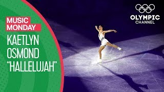 Hallelujah! Kaetlyn Osmond's skates at the PyeongChang 2018 Olympics | Music Monday