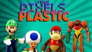 From Pixels to Plastic: World of Nintendo Luigi, Toad, Diddy Kong, & Samus by Jakks Pacific Review