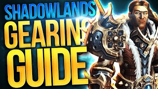 Get GEARED: 184+ Fast! Shadowlands Launch Gearing GUIDE! Big Time Savers & All You Need To Know!
