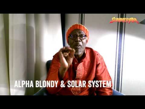 ALPHA BLONDY & SOLAR SYSTEM I Summerjam Festival I 30. Juni - 02. Juli 2017 I Köln