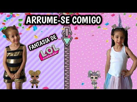 Fantasia Lol Surprise Queen Bee E Unicornio New Unicorn Lol Surprise Youtube