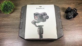 DJI Ronin SC Unboxing, Setup & First Impressions With Canon M50