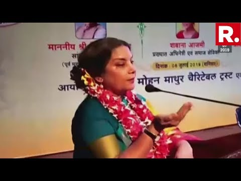 """Shabana Azmi Reignites Intolerance Debate, Claims """"Dissenters Are Called Anti-National"""" Mp3"""