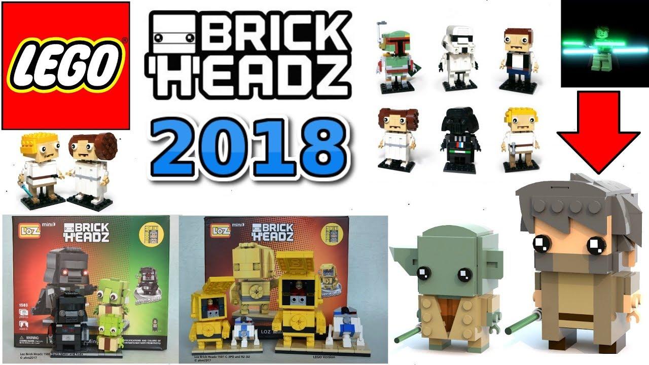 Lego Star Wars Brickheadz Coming In 2018 Lego Star Wars 20182019