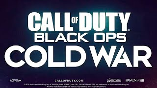 Call Of Duty Black Ops: Cold War Official REVEAL TRAILER
