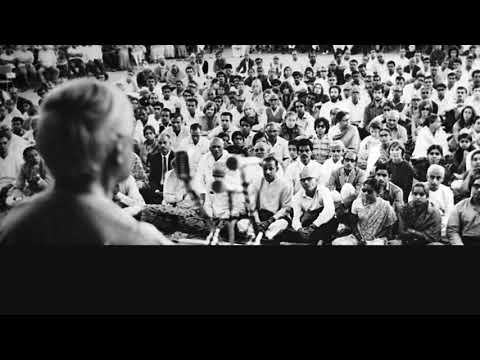 Audio | J. Krishnamurti – Madras 1969 — Public Talk 2 — Order Is The Total Response To A Challenge