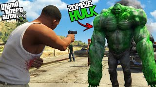 The HULK becomes a ZOMBIE in GTA 5