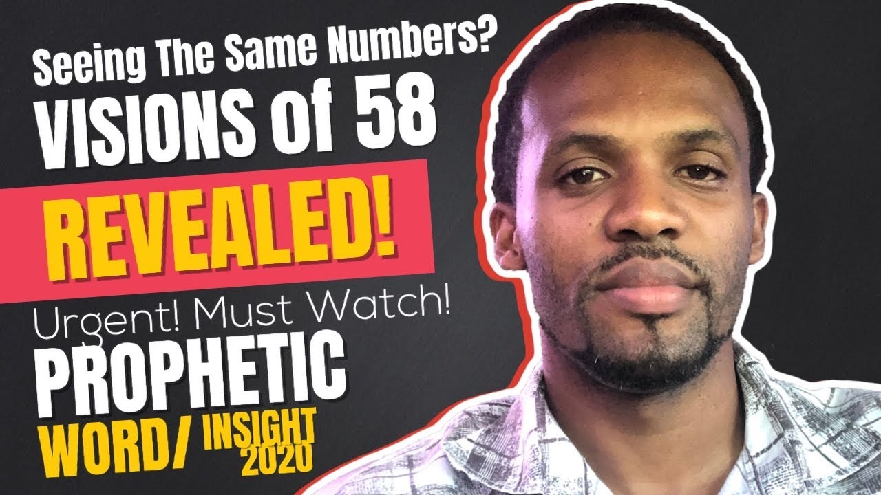 2020 Prophetic Word August Part 2 URGENT Insights and Visions of 58..| Must Watch! Prophet Chris