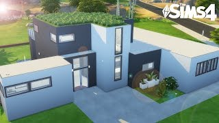 MAISON MODERNE - Construction Sims 8 - YouTube