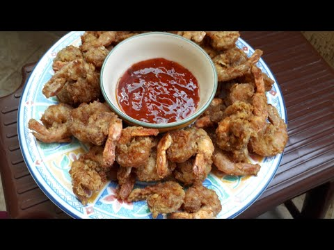 Crispy Fried Shrimp | Easy and delicious Recipe|Own version