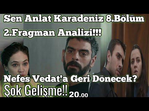 Sen Anlat Karadeniz 8. Bölüm 2. Fragmanı (Nefes Vedat'a Geri Döndü İnanılmaz!!)