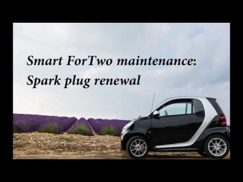 Smart Car Maintenance V Spark Plugs