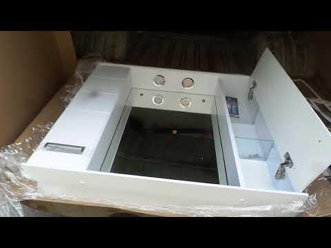 Ирис 90 шкаф зеркальный мебель для ванной