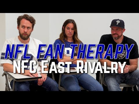 NFL FAN THERAPY: NFC East Rivals