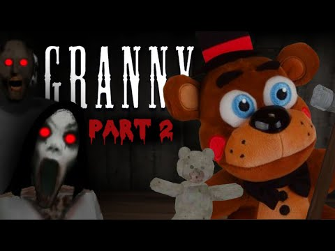 Toy Freddy Plays Granny!! (Part 2) SLENDERINA??!!
