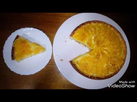 فطيرة-البرتقال-tarte-à-l'orange