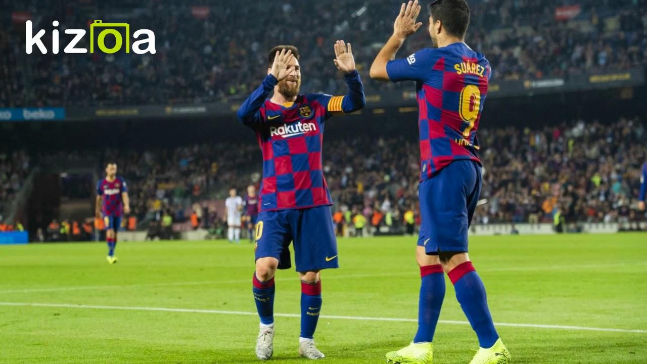 Футбол барселона леванте 5 1 видео