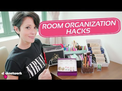 Room Organization Hacks - Hack It: EP55