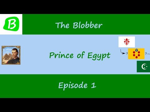 Let's Play Europa Universalis IV - Prince Of Egypt - Episode 1