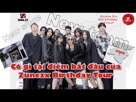 [VLOG #2] : BẾN ĐỖ ĐẦU TIÊN CỦA CHUYẾN TÀU BIRTHDAY TOUR ZUNEZX || Sài Gòn hôm nay vui đến lạ