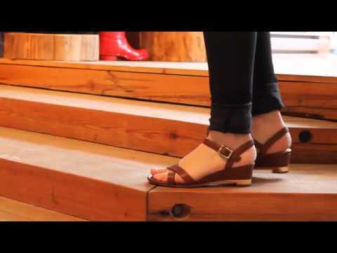 a4c815e8e361 Cole Haan - Melrose Low Wedge in Sequoia - YouTube