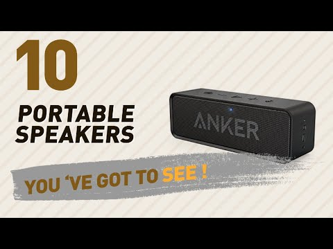 Mp3 Player Accessories - Portable Speakers, Best Sellers 2017 // Amazon UK Electronics