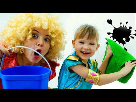 Принцесса Настя и Правила Поведения Для Детей