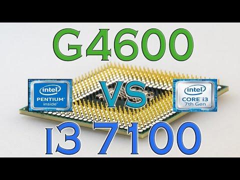G4600 vs i3 7100 - BENCHMARKS / GAMING TESTS REVIEW AND COMPARISON / Kaby Lake vs Kaby Lake