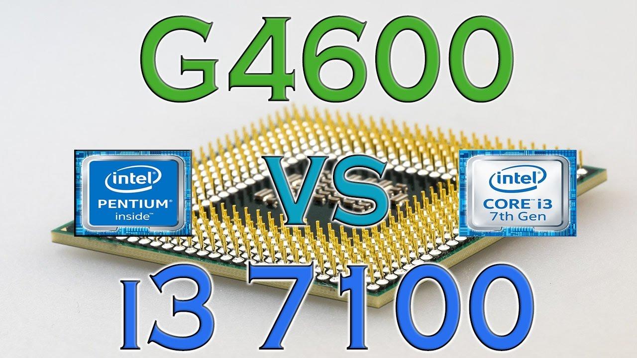 G4600 Vs I3 7100 Benchmarks Gaming Tests Review And Comparison Kaby Lake Vs Kaby Lake Youtube