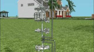 Invention, New hybrid micro wind turbine: Gyromag ( 3D and real ) video