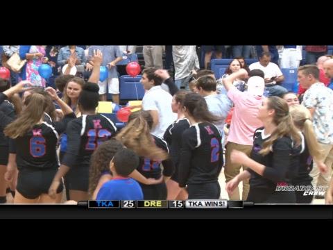 TKA Varsity Volleyball Senior Night vs Dreyfoos