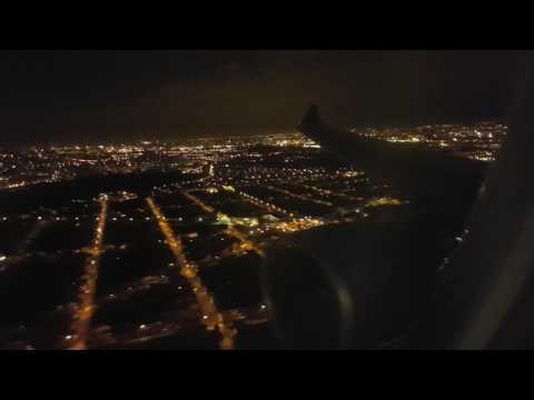 [AIR CARAIBES] A330-300 MARTINIQUE ⇒ PARIS (landing by night)