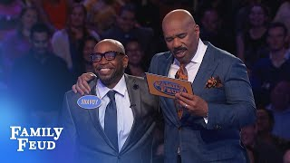 EPIC Fast Money! Watch Shavoy's STUNNING answer! | Family Feud
