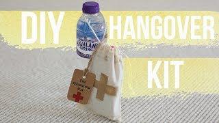 DIY Hangover Kit Wedding Favour