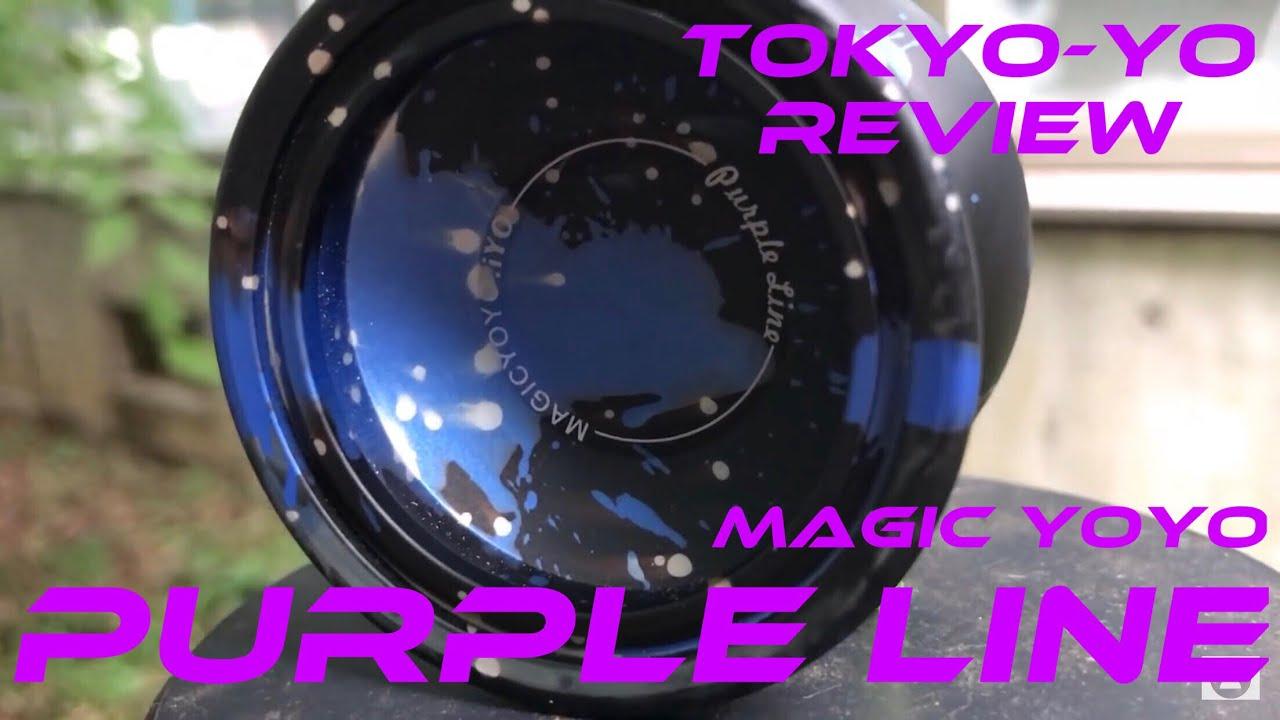 TokYo Yo Reviews Magic Yoyo Purple Line