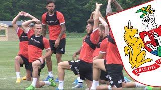 Bristol City's First Day Of Pre-season Training