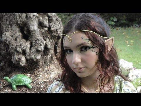 Magic elf make up / Maquillage d\u0027elfe