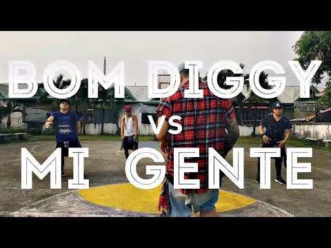 BOM DIGGY Vs MI GENTE (DJ Kevin J Remix)   Zumba   Kramer Pastrana