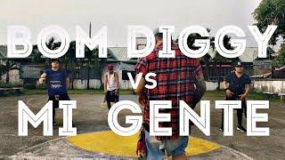 BOM DIGGY vs MI GENTE (DJ Kevin J Remix) | Zumba | Kramer Pastrana