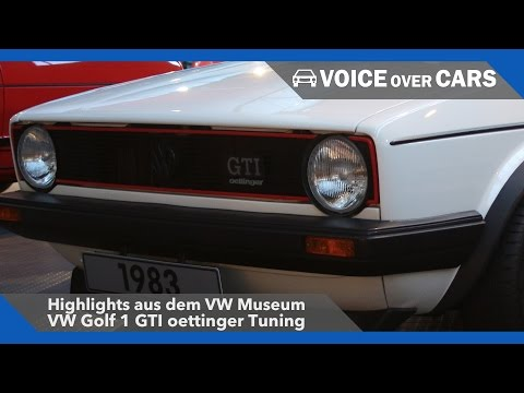 VW Golf 1 GTI oettinger Tuning – VW Museum Highlights 2016