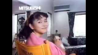 1988年CM 三菱電機 三菱エアコン霧ケ峰 怪盗ルビイ編 小泉今日子.