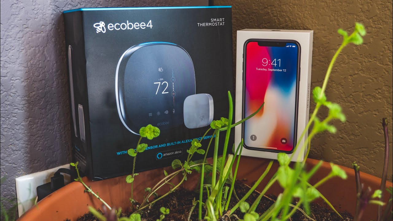 iphone 3rd generation iphone x with ecobee4 and nest 3rd generation thermostat 10830