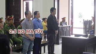 Đường dây vận chuyển 2,9 kg ma túy từ Campuchia về Việt Nam lãnh án