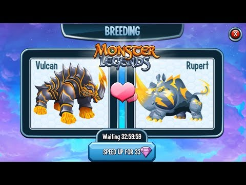 Monster Legends | Trying to Breed Nidiria Legendary | Summer Breeding Event Gameplay